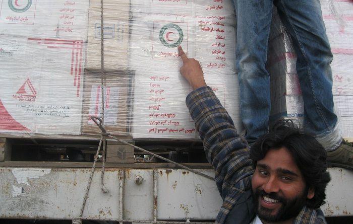 کمک ایران1