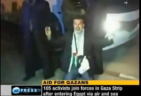 کاروان آسیایی در غزه 2