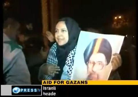 کاروان آسیایی در غزه 4