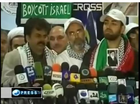 کاروان آسیایی در غزه 7