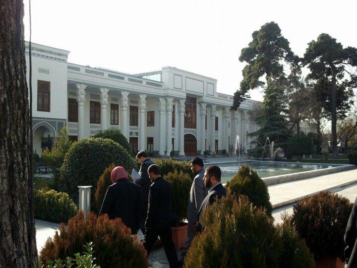 آزادگان در بازدید از مجلس