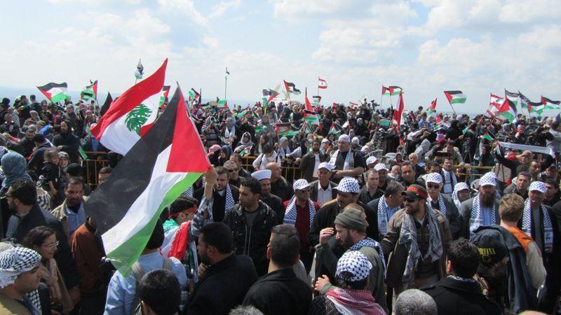 تظاهرات برای آزادی قدس در روز زمین در لبنان 3