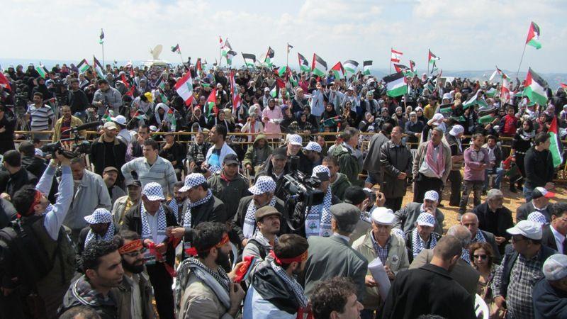 تظاهرات برای آزادی قدس در روز زمین در لبنان 4