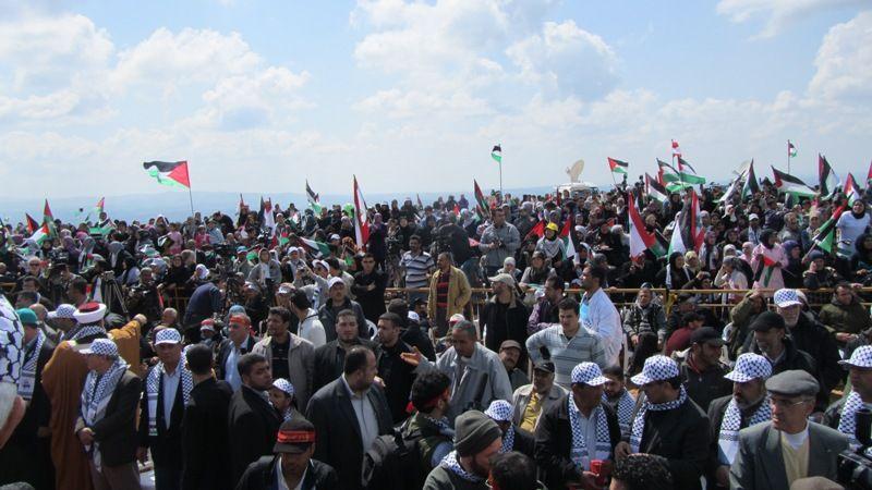تظاهرات برای آزادی قدس در روز زمین در لبنان 5
