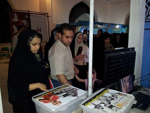 غرفه امت واحده در نمایشگاه قرآن تهران 3
