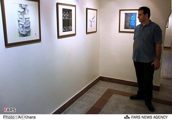 نمایشگاه آثار جشنواره کاریکاتور بازگشت به خانه 6