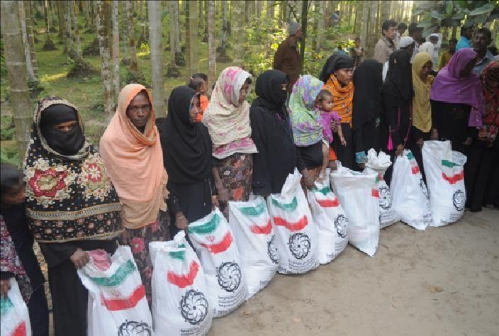 کمک به میانمار 1