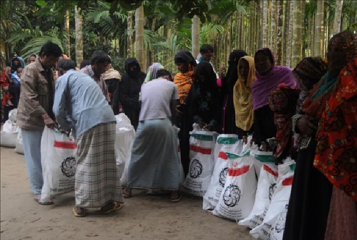 کمک به میانمار 2