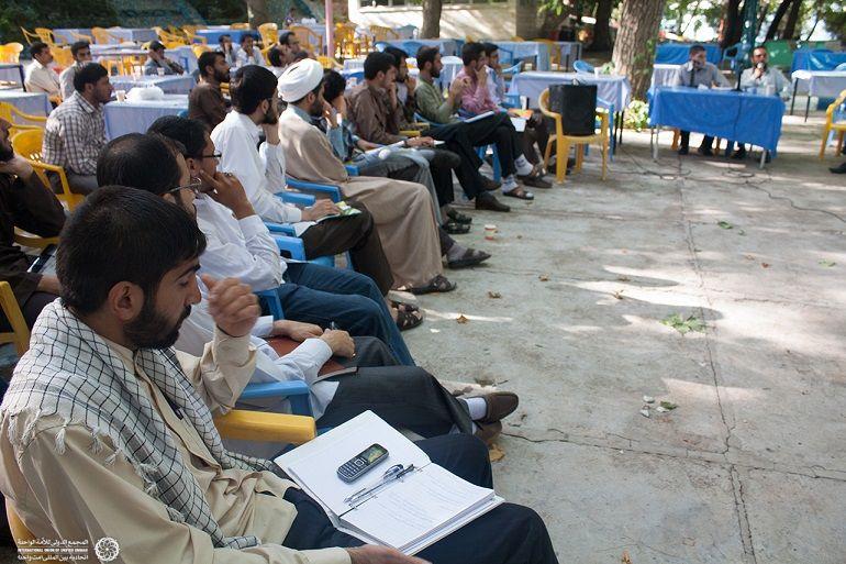برگزاری کارگاه با حضور مبارز انقلابی آذربایجان آقای محمدف