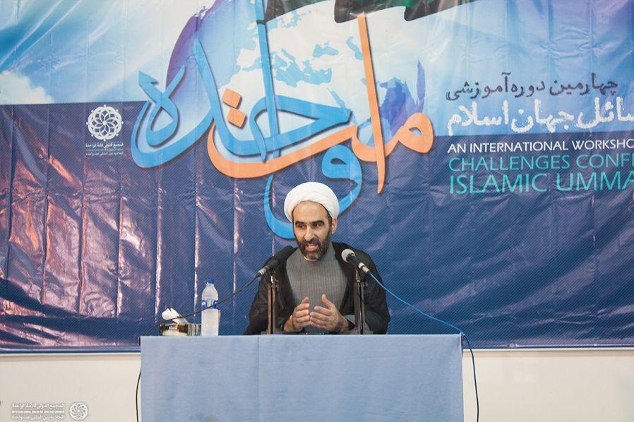 سخنرانی حجه الاسلام مبلغی پیرامون اقسام تقریب و مناسبات اجتماعی