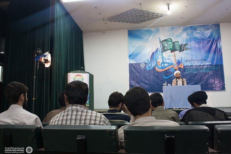 برگزاری کارگاه های آموزشی پیرامون وحدت با حضور حجه الاسلام مسائلی