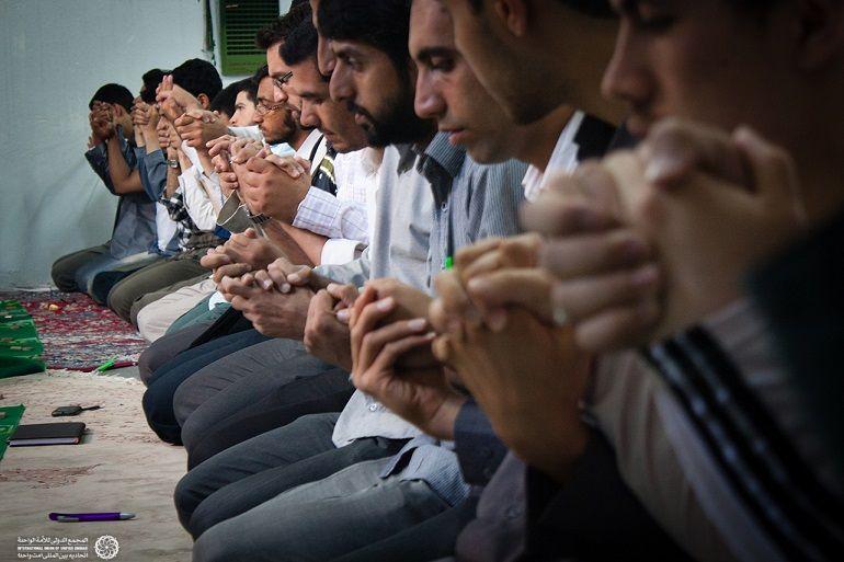 دعای زیبای وحدت بین نماز های یومیه