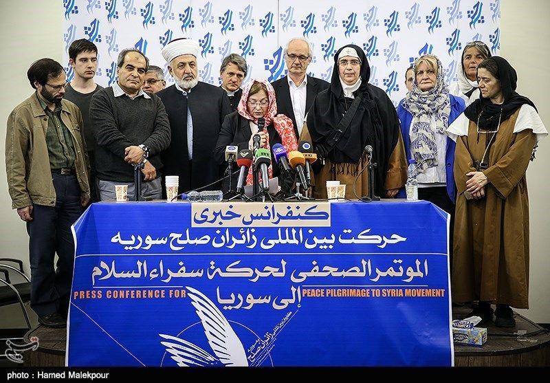 کاروان زائران صلح سوریه 3