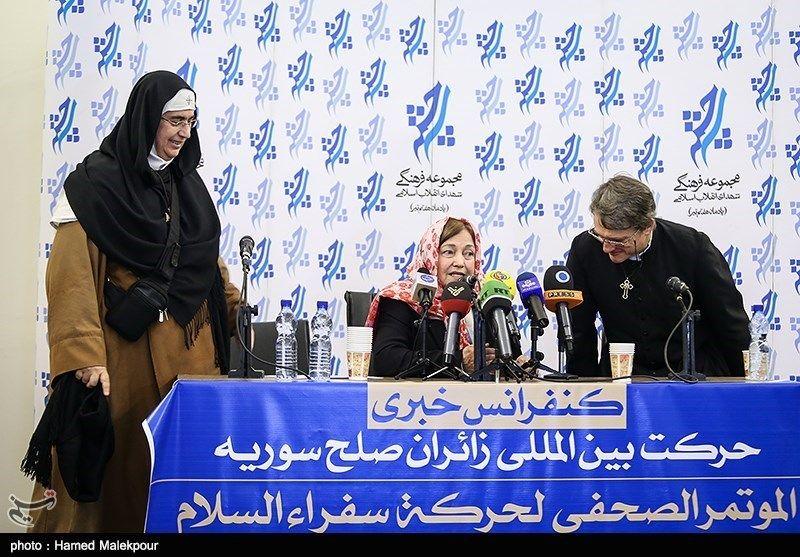 کاروان زائران صلح سوریه 4