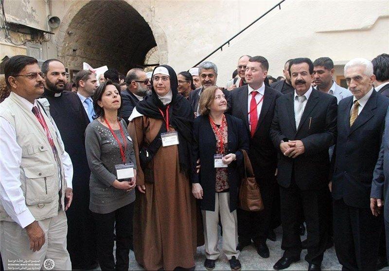 زائران صلح در سوریه 4
