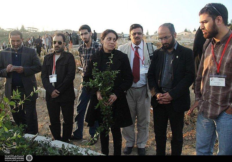 زائران صلح در سوریه 5
