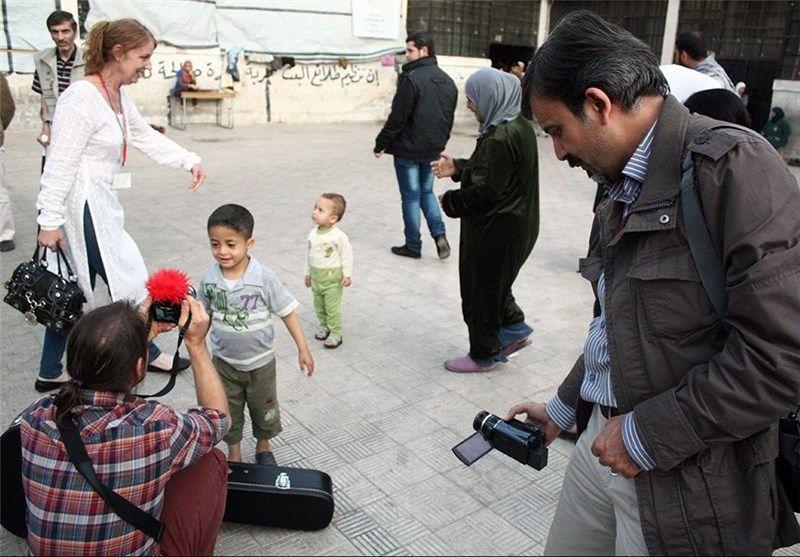 اعضای ایرانی کاروان صلح و کودکان سوریه 1