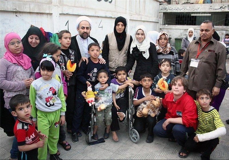 اعضای ایرانی کاروان صلح و کودکان سوریه 2