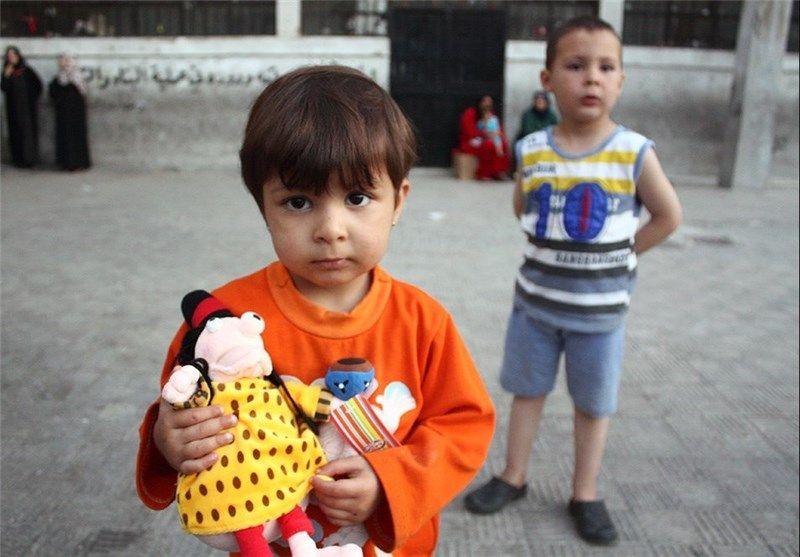 اعضای ایرانی کاروان صلح و کودکان سوریه 5
