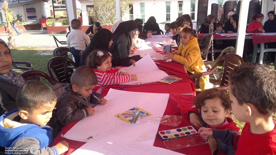 نقاشی کودکان غزه