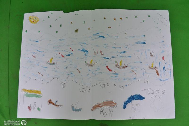 نقاشی ایتام غزه 4