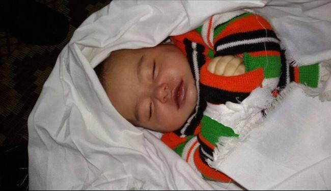 مرگ کودک فلسطینی بر اثر سرما