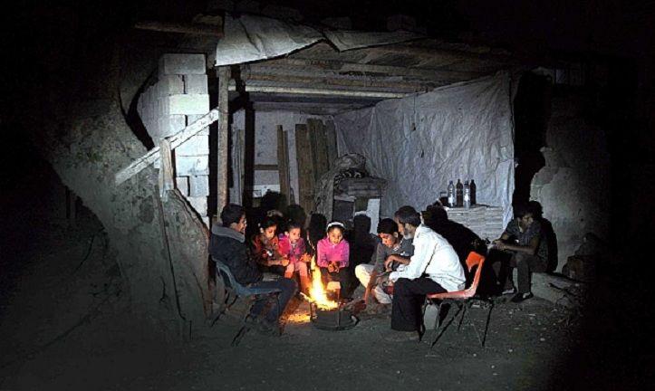 سرما در غزه
